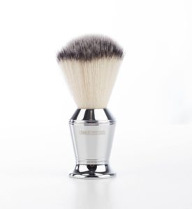 Edwards Chrome fiber shaving brush