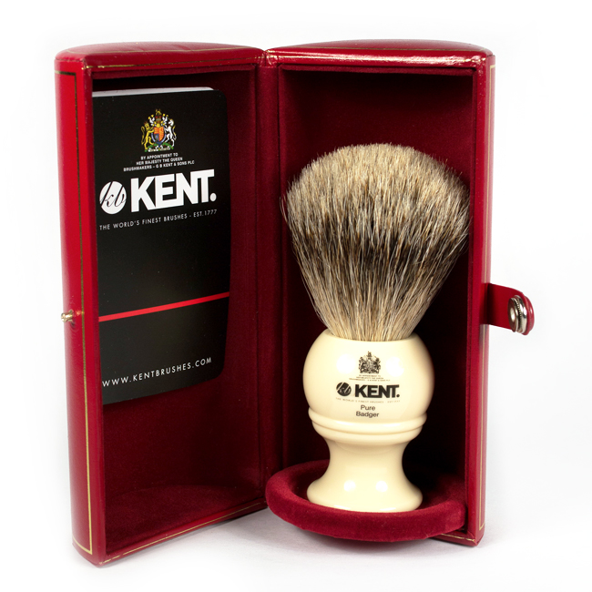 The Kent BK4 traditional Shaving Brush