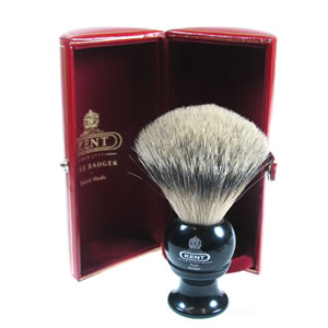 The Kent BKL4 Black Shaving brush
