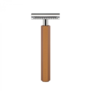 Muhle Hexagon Bronze DE Safety Razor