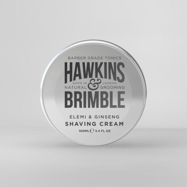 Hawkins and Brimble traditional Shaving Cream