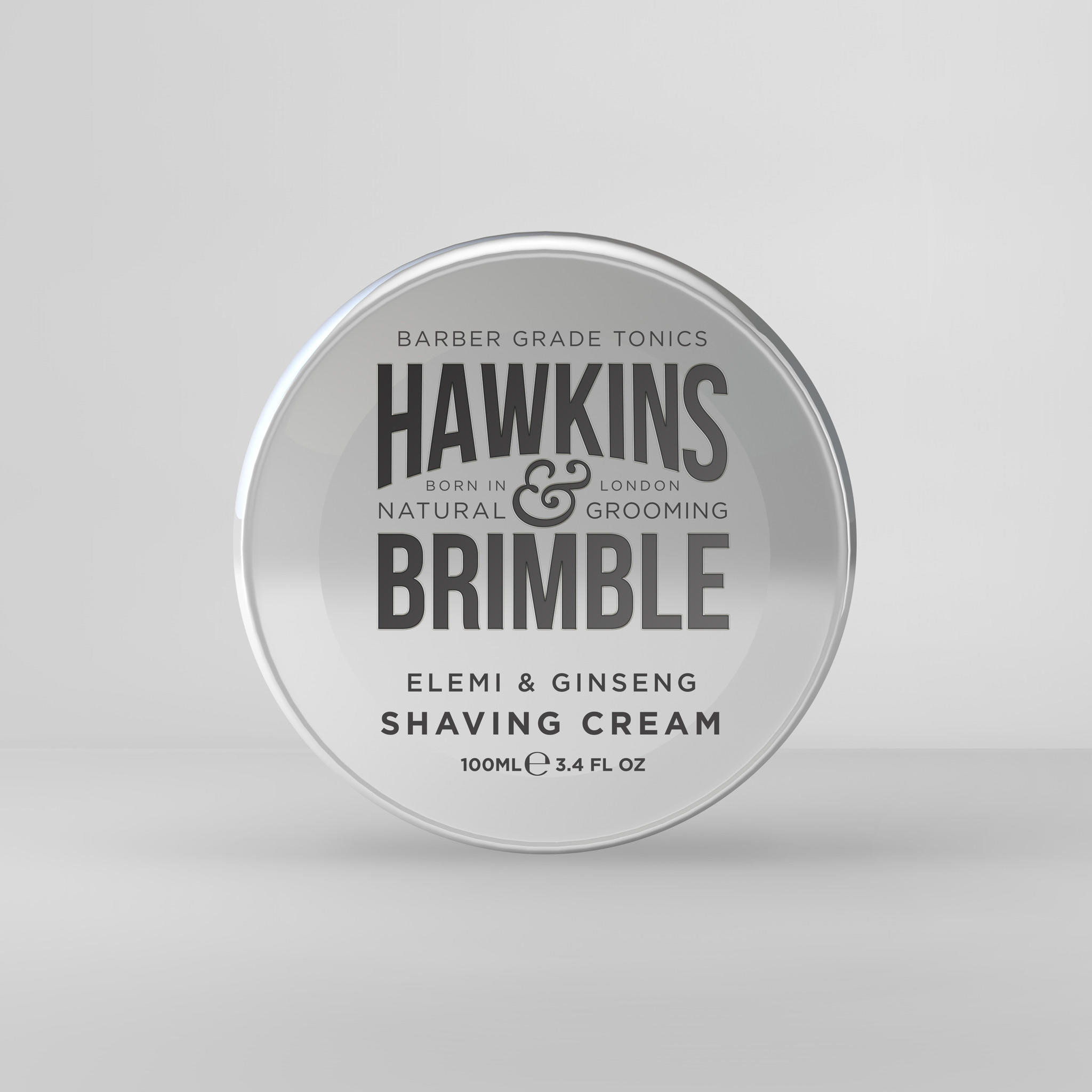 Hawkins and Brimble traditional Shaving Cream