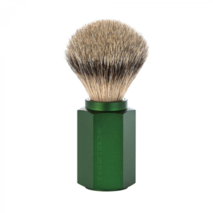 MÜHLE Hexagon, FOREST traditional Shaving brush