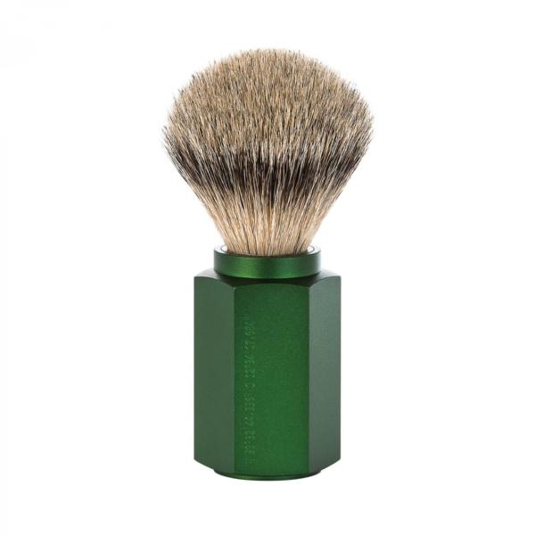 MÜHLE Hexagon, FOREST traditional Shaving brush
