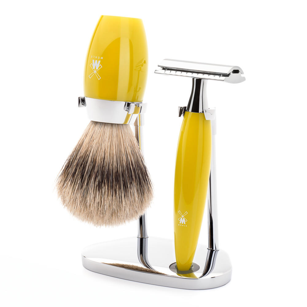 Muhle Kosma shaving Set Citrin