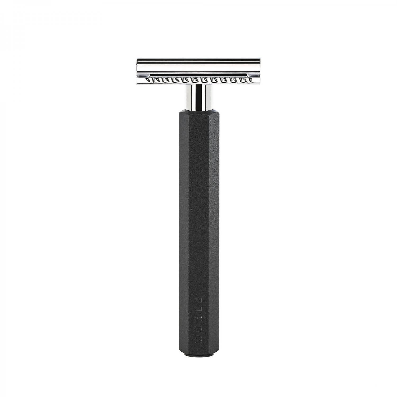 Muhle Hexagon Safety Razor Graphite