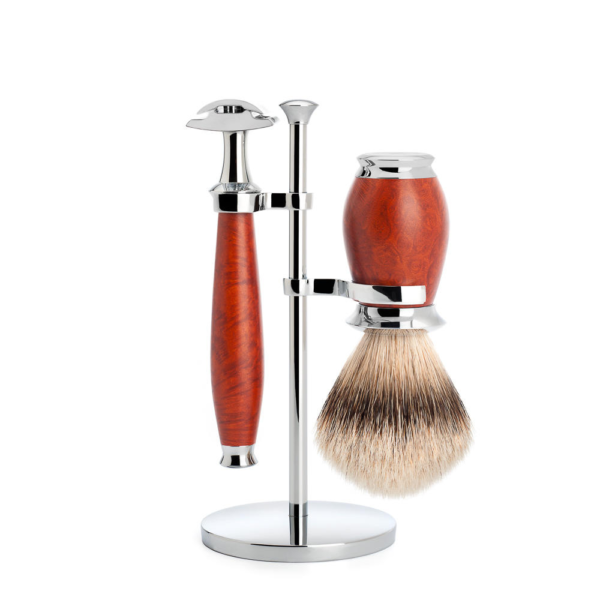 Muhle Purist traditional shaving set briarwood