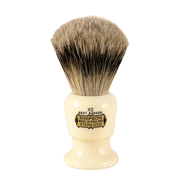 Simpsons commodore 2 shaving brush