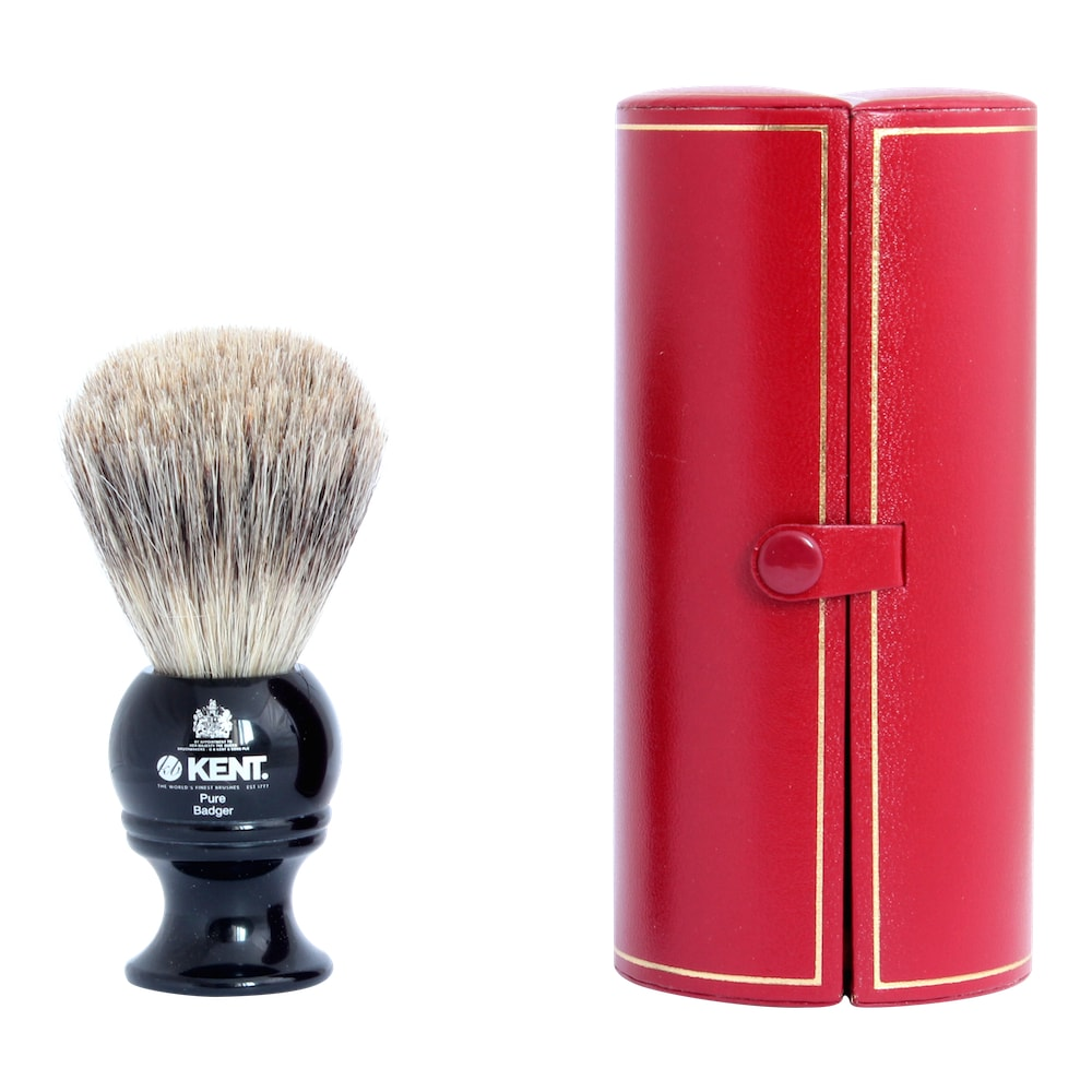 Kent Blk2 Black shaving brush