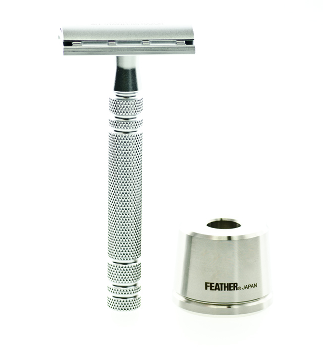The Feather AS-D2S traditional shaving safety razor