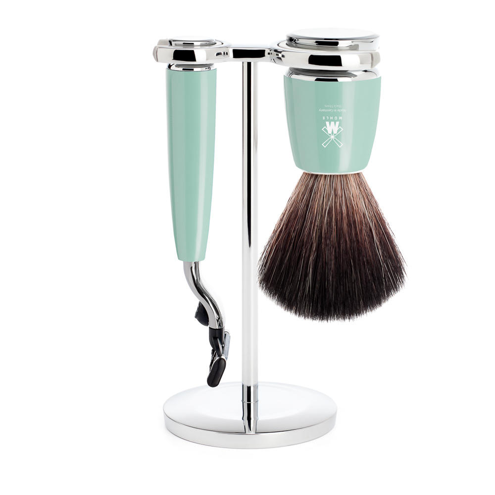 Muhle Rhymto shaving set fiber