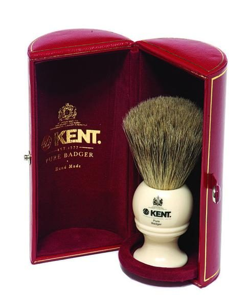 traditional shaving brush kent