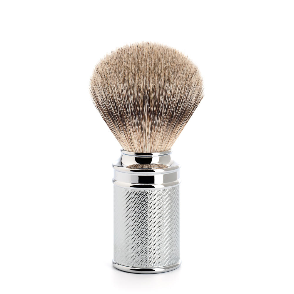 MÜHLE Chrome Silvertip Badger brush