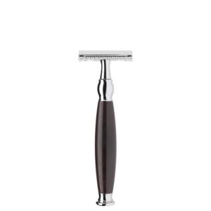 Sophist Grenadille hardwood traditional shaving Safety razor