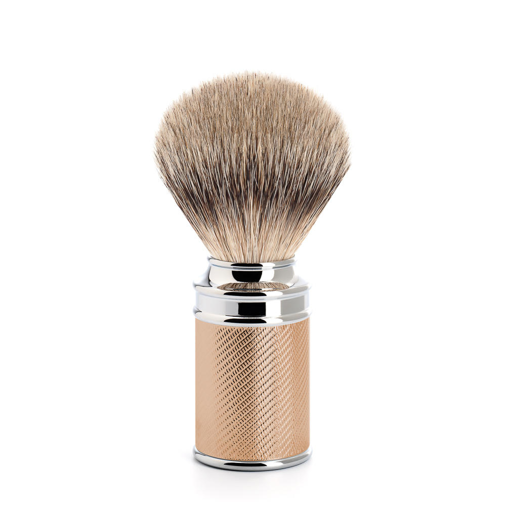 Muhle rose gold shaving brush