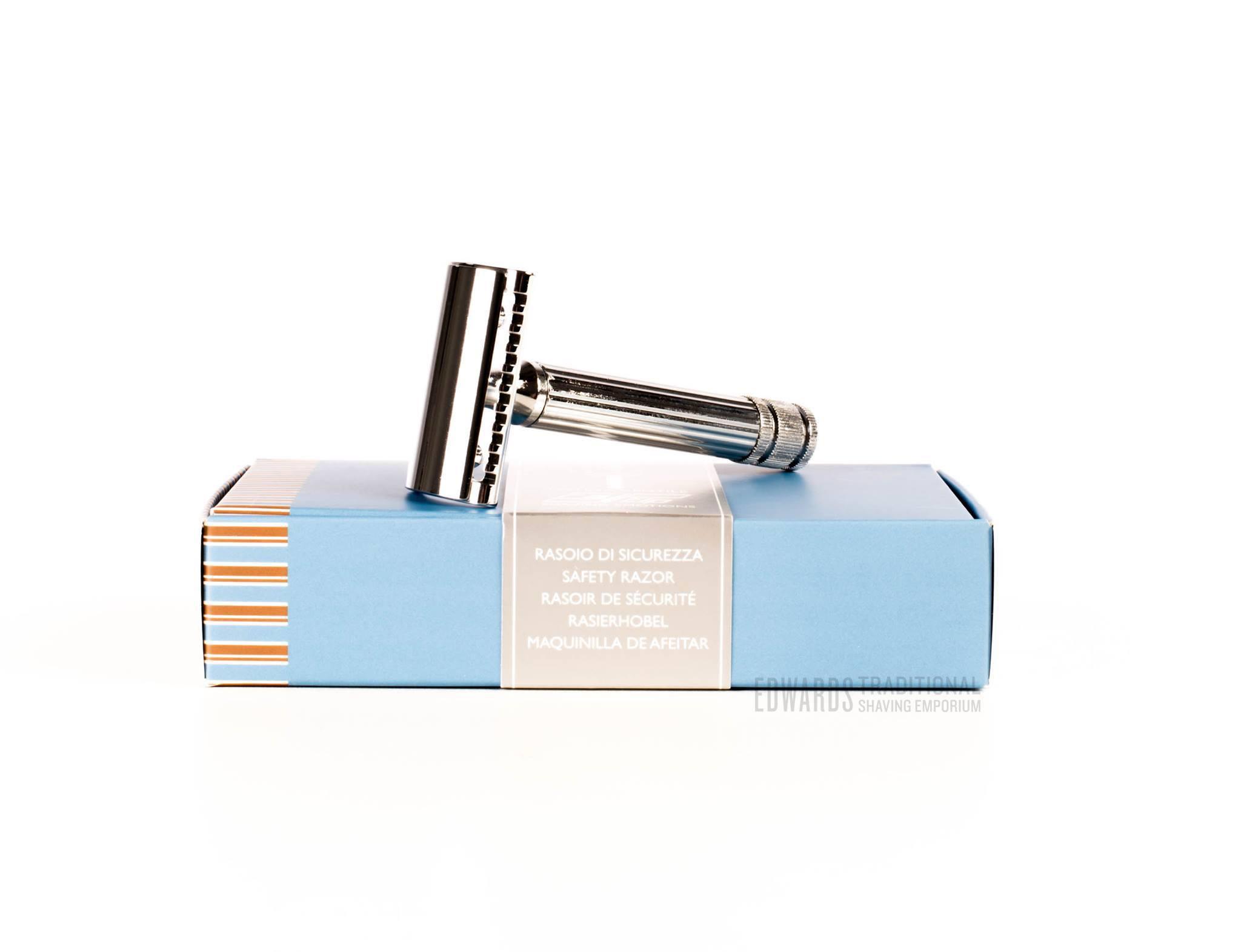 Fatip gentile chrome safety razor