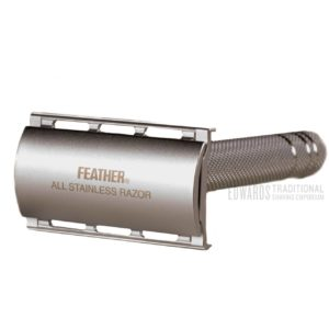 Feather AS-D2 edwards traditional shaving emporium safety razor DE